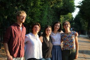 LCOY Austria 2018 organizing team with Hendrik Hartmann Nina Samer Katja Hummer Adriana Bascone and Rebecca Chizzola
